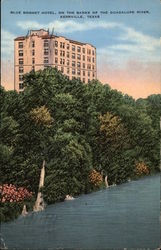 Blue Bonnet Hotel, on the Banks of the Guadalupe River, Kerrville, Texas