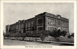 High School, Lumberton, North Carolina