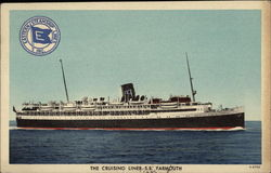 The Cruising Liner, S. S. Yarmouth