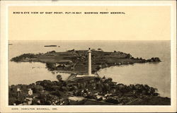 Bird's Eye View of East Point, showing Perry Memorial
