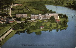 Lady of the Lake Hospital, as Seen from the Top of State Capitol Building