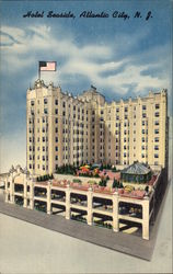Hotel Seaside Postcard