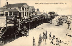 Boardwalk and Beach, Rehoboth Beach