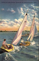 Sailing on Lake Heffner, City Reservoir