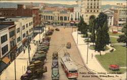 Public Square, Looking Towards East Market Street