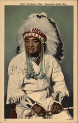 Chief Evergreen Tree, Wisconsin Dells, Wis