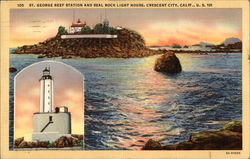 St. George Reef Station and Seal Rock Light House