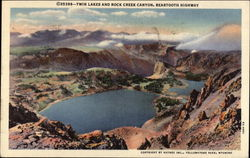 Twin Lakes and Rock Creek Canyon, Beartooth Highway