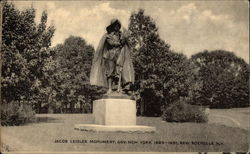 Jacob Leisler Monument, Gov. New York 1689-1691