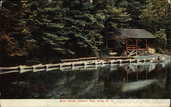 Boat House, Summit Park Utica New York
