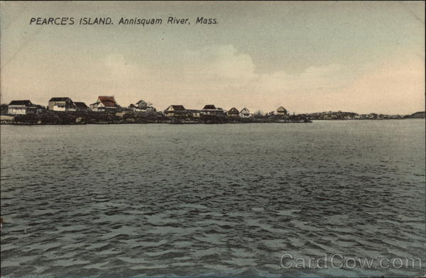 Pearce's Island, Annisquam River Massachusetts