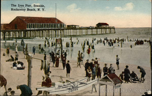 The Iron Pier, Seaside, Rockaway Beach, N.Y New York