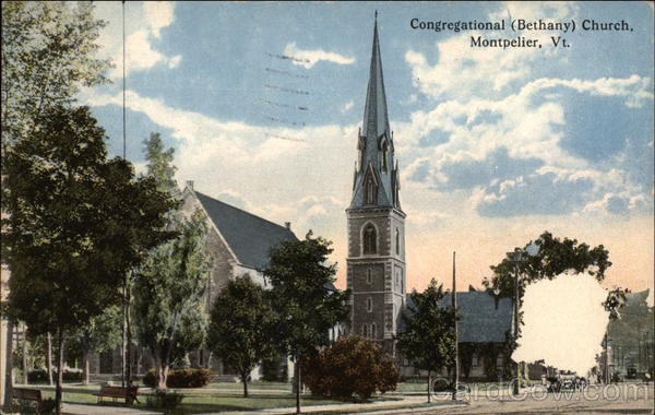 Congregational (Bethany) Church Montpelier Vermont