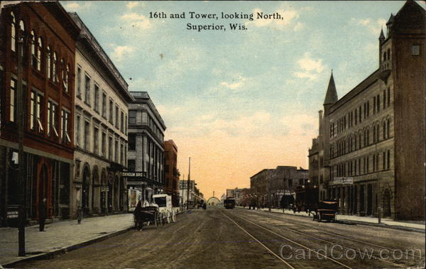 16th and Tower, Looking North Superior Wisconsin