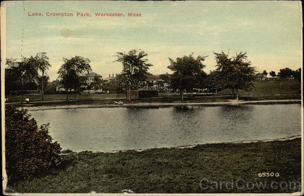 Lake, Crompton Park Worcester Massachusetts