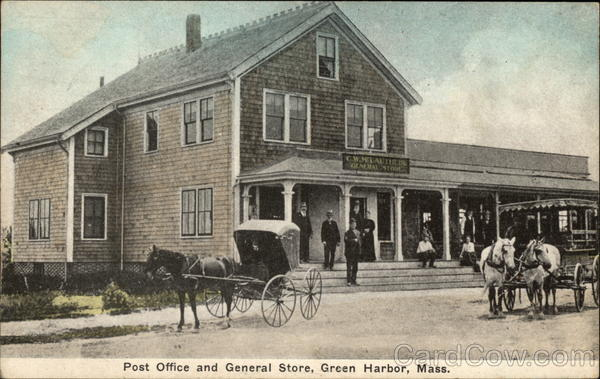 Post Office and General Store Green Harbor Massachusetts