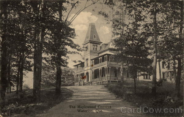 The Maplewood Convent Waterloo Canada Quebec