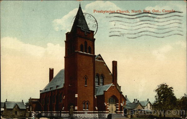 Presbyterian Church, North Bay Canada Ontario
