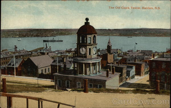 The Old Clock Tower, Halifax, N.S Nova Scotia