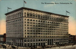 View of the Wanamaker Store