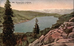 General View of Donner Lake