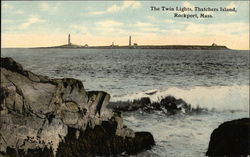 The Twin Lights, Thatchers Island