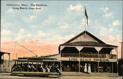 The Pavilion, Long Beach, Cape Ann Postcard