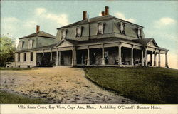 Villa Santa Croce, Bay View, Archbishop O'Connell's Summer House, Cape Ann Gloucester, MA