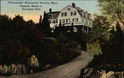 """Parramatta"" Monserrat, Summer Home of President Taft Postcard"