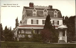New Summer Home of President Taft