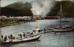 Small Harbor in Wrangell, Alaska
