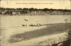 The Ice Industry, Mississippi River