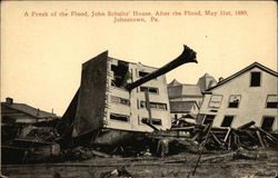 A Freak of the Flood, John Schultz' House