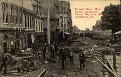 Thomas' Store, Johnston Flood