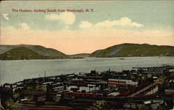 The Hudson, looking South from Newburgh