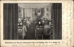 Dining Room, Lake View Inn, Cobbosseecontee Lake