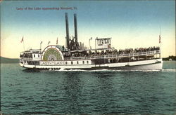 Lady of the Lake Approaching Newport