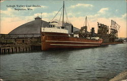 Lehigh Valley Coal Docks