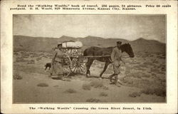 "The ""Walking Woolfs"" Crossing the Green River Desert"