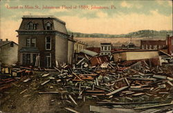 Locust to Main St., Johnstown Flood of 1889
