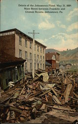 Johnstown Flood Debris