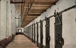 Prison Cells, Penitentiary, Salem, Oregon