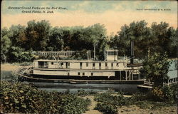 Steamer Grand Forks on the Red River