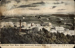 Bird's Eye View Mass. State Sanatorium