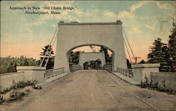 "Approach to New ""Old Chain Bridge"""