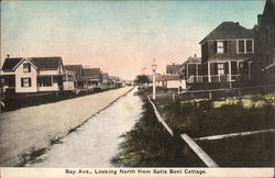 Bay Ave., Looking North from Satis Boni Cottage