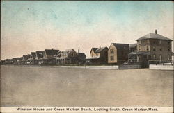Winslow House and Green Harbor Beach, Looking South