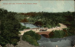 Bridge and Lake, Franklin Park