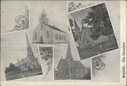 The Churches of Magog Postcard