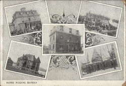 Some Magog Homes Postcard